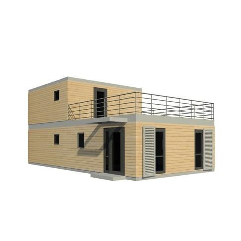 Maison modulaire contemporaine architecte prix choc for Maison modulaire guadeloupe