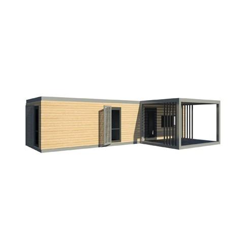 Maison modulaire moderne evolutive for Maison modulaire guadeloupe