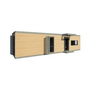 Maison modulaire ossature bois acier