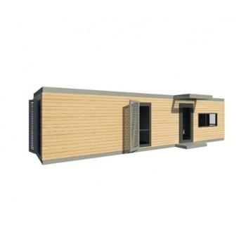Maison modulaire ossature bois acier metallique for Ossature acier