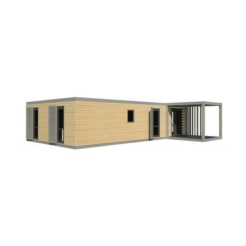 maison modulaire evolutive bois acier