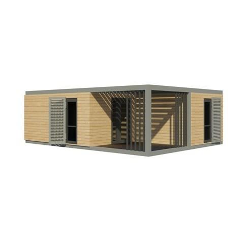maison modulaire pr te habiter. Black Bedroom Furniture Sets. Home Design Ideas