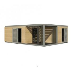 Maison Modulaire ELEGANCE 20m2 40m2 50m2 60m2 80m2 100m2