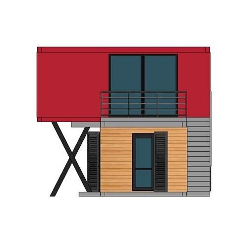Prix maison modulaire excellent maison modulaire with prix maison modulaire top surface amnage for Maison modulaire bois prix