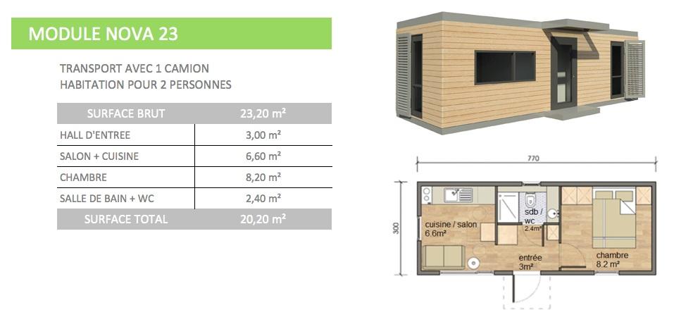 Maison modulaire ecologique rt 2012 for Prix maison 100m2 rt 2012