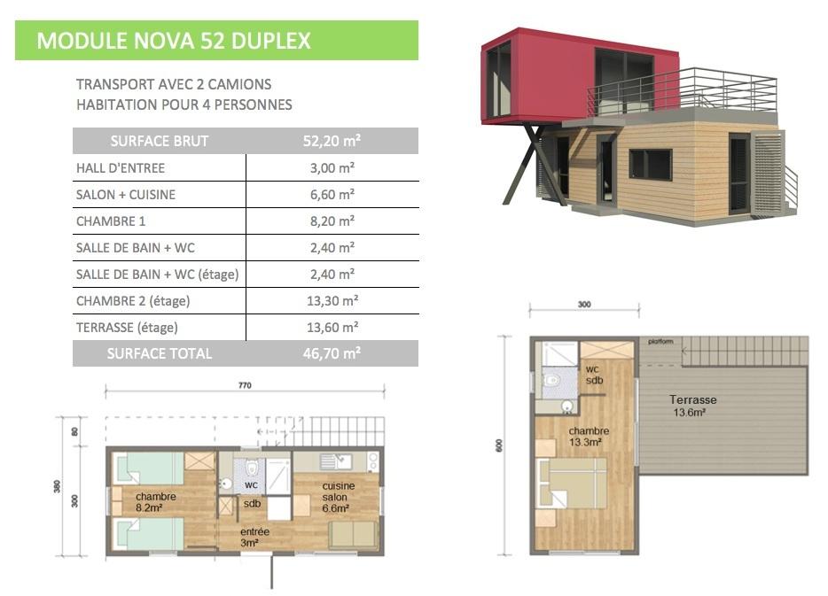 Maison modulaire cl en main prix m2 exceptionnel for Maison en bois prix tout compris