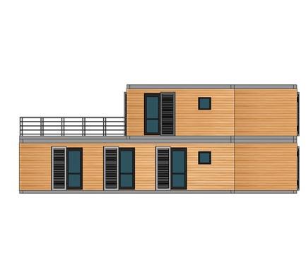 Maison modulaire grace dans le jura - Constructeur maison modulaire ...