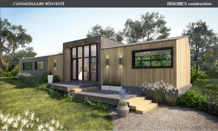 r alisations maisons et chalets modulaires. Black Bedroom Furniture Sets. Home Design Ideas