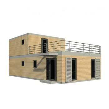 Maison modulaire contemporaine NOVA 123