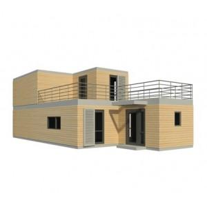 Maison modulaire design NOVA 123M