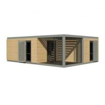 Maison Modulaire prête à habiter NOVA 54